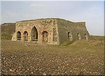 NU1341 : Lime Kilns on Lindisfarne by Rick Crowley