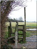 ST9102 : Stile on the Stour Valley Way by Maigheach-gheal
