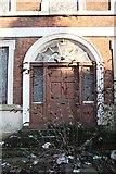 TF3243 : Georgian doorway by Richard Croft