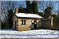 TQ3090 : Lodge, Alexandra Park, North London by Julian Osley