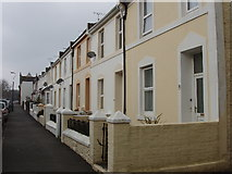 SX9265 : Terrace on North side of St Anne's Road by David Hawgood