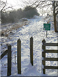 SK3455 : Stile on Crich Stand by Alan Murray-Rust