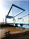 TA1031 : Clough Road Lift Bridges over the River Hull by Andy Beecroft
