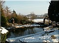 SE2708 : Cannon Hall Fish Pond looking to Cawthorne Village by John Fielding