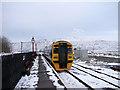 SD7678 : A Northern Rail train at Ribblehead by John Lucas