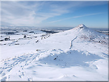 NZ5812 : View from the summit of Little Roseberry by Stephen McCulloch