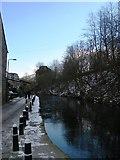 SD9827 : Canal Towpath near Hebble End by SMJ
