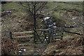 SD4092 : Gate on path across Birkett Houses Allotment by Tom Richardson