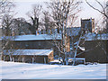 SD9772 : Snowy scene in Kettlewell by Stephen Craven