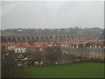 NT9953 : Berwick-Upon-Tweed viaduct by Ashley Dace