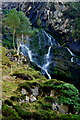 G6690 : Assarnacally Waterfall - Top portion by Joseph Mischyshyn