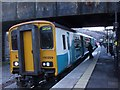 SO2100 : Cardiff-bound train in Llanhilleth Station by John Lord