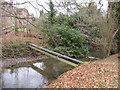 SU6357 : A pipe across a stream by Sandy B