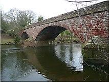 NY5046 : Armathwaite Bridge by Humphrey Bolton