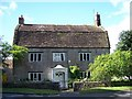 ST4226 : Mansard Roof House Langport Somerset by Pam Goodey