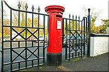 J4681 : Pillar box, Crawfordsburn by Albert Bridge