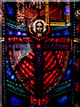 TQ2779 : Detail of stained glass exhibit by Zorba the Geek