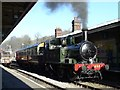 TQ3729 : GWR Tank Engine at Horsted Keynes by Peter Trimming