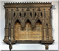 TF6624 : St Lawrence, Castle Rising, Norfolk - Wall monument by John Salmon