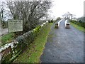 NY5563 : The approach to Lanercost Old Bridge from the south by Humphrey Bolton