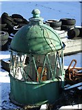 NS2776 : Old lighthouse dome by Thomas Nugent