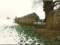SE2768 : Abbey Wall by Matthew Hatton