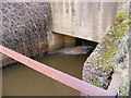 TM4974 : Dunwich River Sluice by Adrian Cable