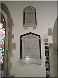 SU9877 : Memorials on the north wall at St Mary the Virgin, Datchet by Basher Eyre