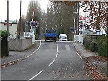SK6443 : Burton Joyce level crossing by Alan Murray-Rust