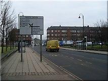 NS6162 : Approaching Farme Cross on Farmeloan Road by Stephen Sweeney