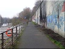NS6162 : Clyde Walkway, Dalmarnock by Stephen Sweeney