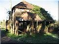 TQ2744 : Farm Building by at Landens Farm by Richard Rogerson