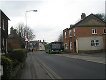 SU3521 : Bus in Winchester Road by Basher Eyre