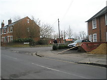 SU3521 : Junction of Station Road and Orchard Lane by Basher Eyre
