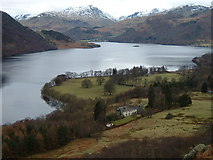 NY4020 : Lyulph's Tower and Ullswater by Jim Barton