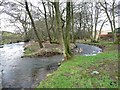 NY4532 : The River Petteril, Little Blencow by Humphrey Bolton
