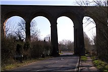 TL8928 : Chappel viaduct, Wakes Colne by MJ Reilly