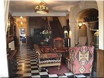 SH5837 : Portmeirion Hotel - interior by Ian Cunliffe