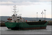 J3576 : The 'Arklow Sand' at Belfast by Rossographer