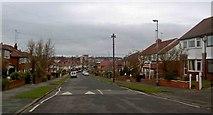 SE3634 : Knightsway Whitkirk, Leeds by Steve  Fareham