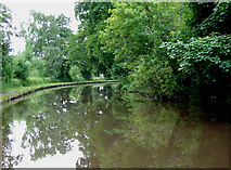 SJ9921 : Trent and Mersey Canal near Shugborough, Staffordshire by Roger  Kidd
