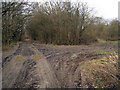 TQ7335 : Former Railway Line by Oast House Archive