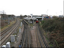 TQ2182 : Willesden Junction station by Dr Neil Clifton