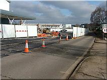 TL8364 : Asda roundabout takes shape by John Goldsmith