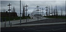 NS5566 : New bridge at Partick by Thomas Nugent
