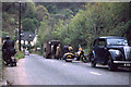 SS8846 : Mishap on Porlock Hill, Somerset by Geoff Royle
