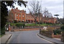 TM2649 : Seckford Hospital buildings by Andrew Hill