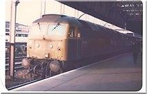 SJ8398 : Manchester Victoria Station by Paul Bridge