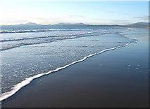 SH5630 : Very low tide, looking towards Llyn by David Medcalf