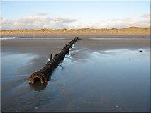 SH5631 : Old pipeline by David Medcalf